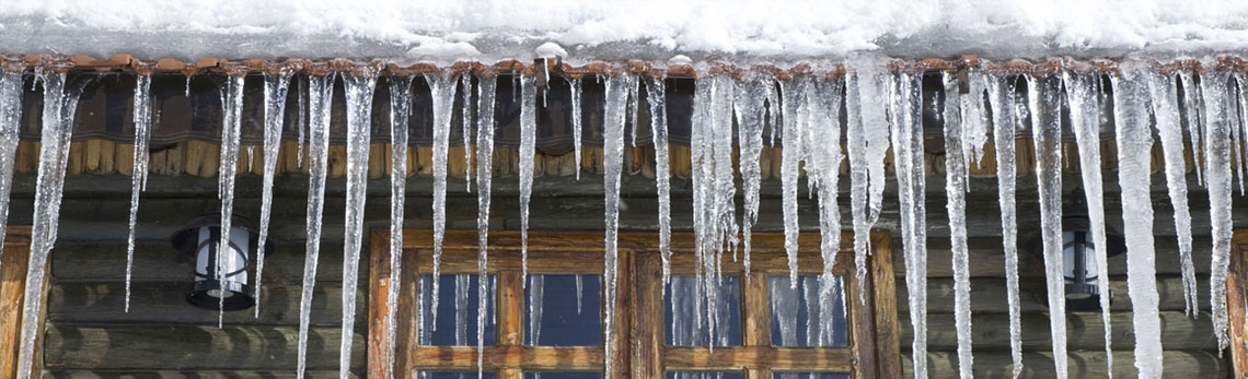 ice dam prevention with foam insulation
